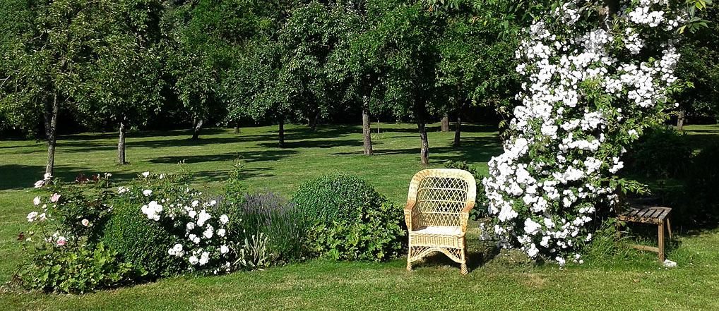 Garten ist der Luxus unserer Tage